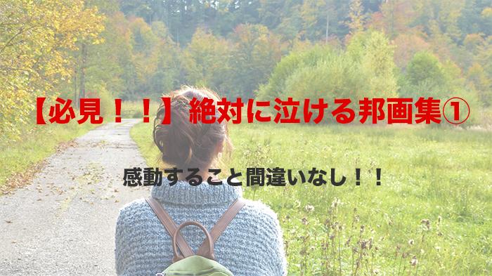 【必見!!】絶対に泣ける邦画集①